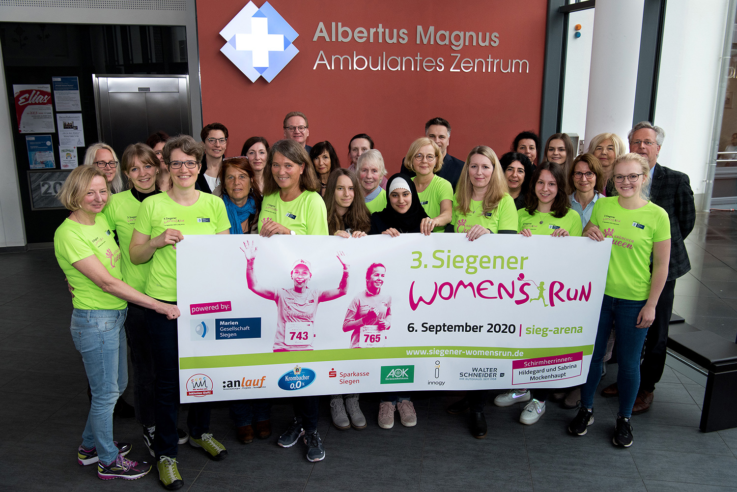 Start zum 3. Siegener Women's Run!
