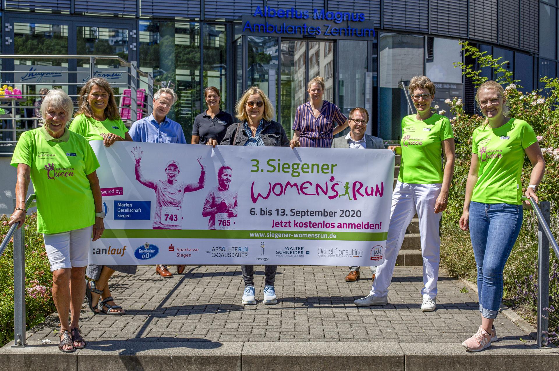 Der 3. Siegener Women' Run 2020 findet statt