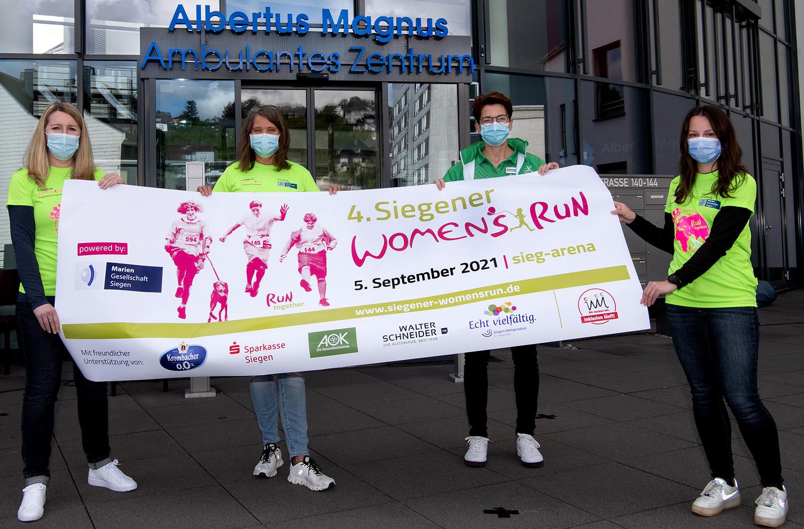 Auch 2021 wird es einen Siegener Women's Run geben!